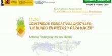 """Contenidos educativos digitales: """"Un mundo en piezas y para hacer"""""""