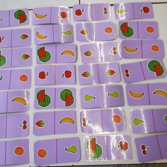 Fruits-Domino
