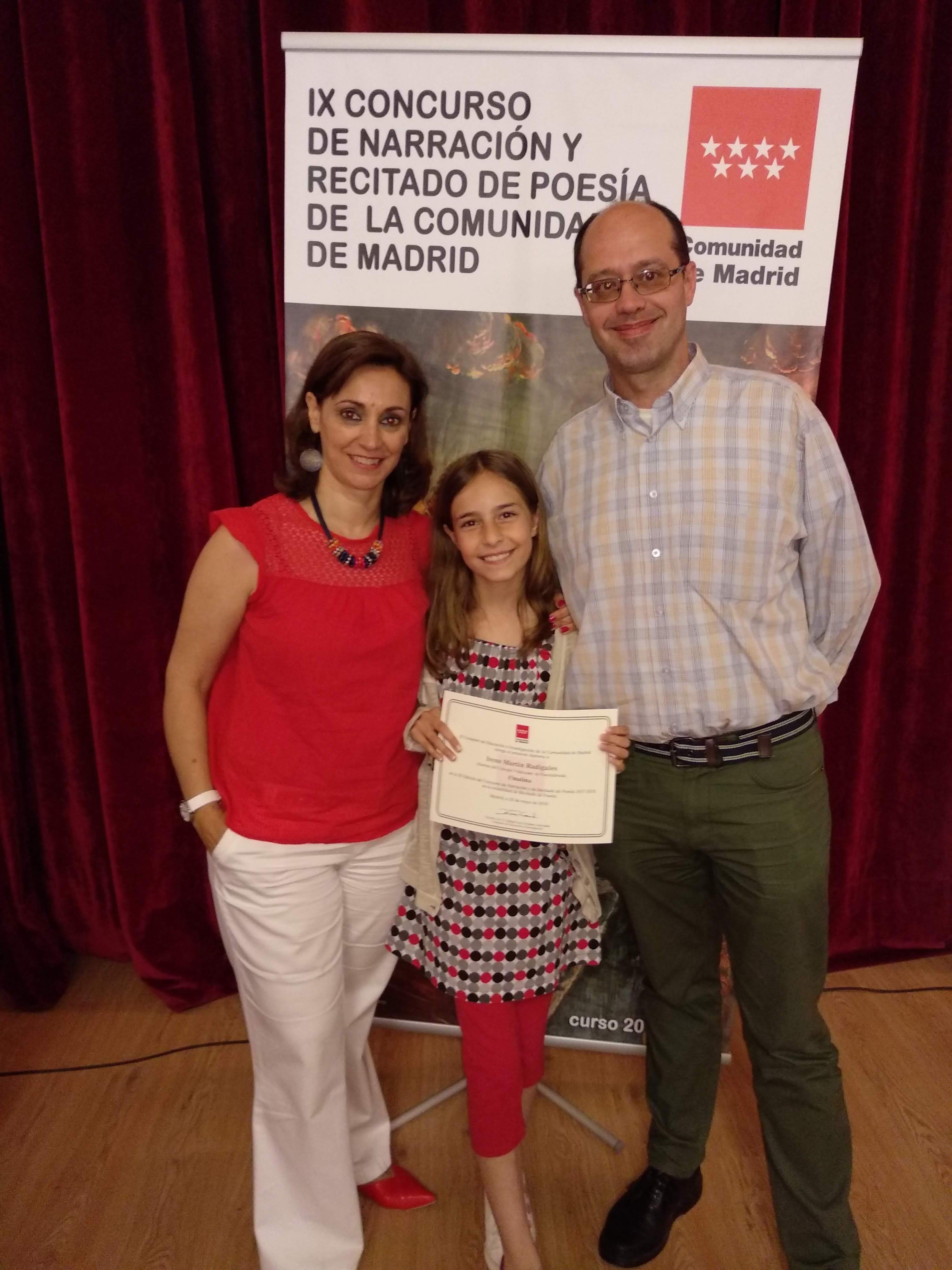 Ix Concurso de Narración y Poesía de la Comunidad de Madrid 2