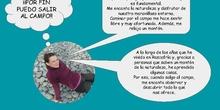 CONOCER EL ENTORNO PASEANDO