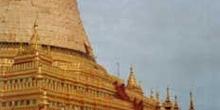 Pagoda Shwezigon, Bagan, Myanmar