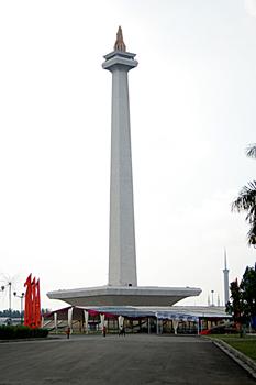 Monumento Nacional Monas, Jakarta, Indonesia