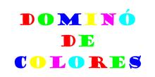 LOS CANGREJOS DESDE CASA: DOMINÓ DE COLORES