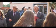 Visita del Consejero de Educación al Bachillerato de Investigación