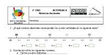 Actividades Grupos Interactivos IES El Carrascal Matemáticas 1ºDecimales y SMD