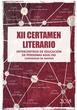 Revista del XII Certamen Literario Intercentros de educación de personas adultas de Madrid 2018