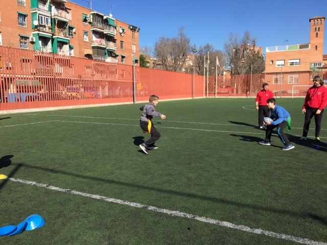 MAÑANAS ACTIVAS. Polideportivo San Vicente de Paul 1. Boxeo, Rugby, Padel y Hockey 8