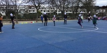 PANCAKE DAY RACES AT THE JOSE BERGAMIN SCHOOL