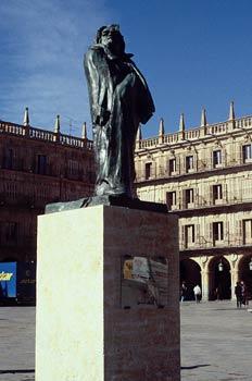 Monumento a Balzac de Auguste Rodin, Plaza Mayor de Salamanca