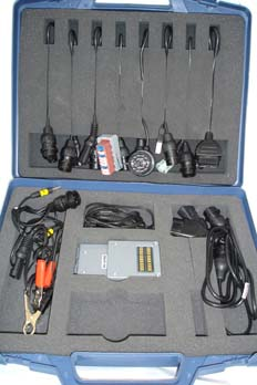Juego de cables para conexión serie de equipo de diagnosis