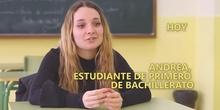 Andrea - Conversaciones sobre el bachillerato