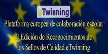II Edición Reconocimiento de Sellos de Calidad etwinning Comunidad de Madrid