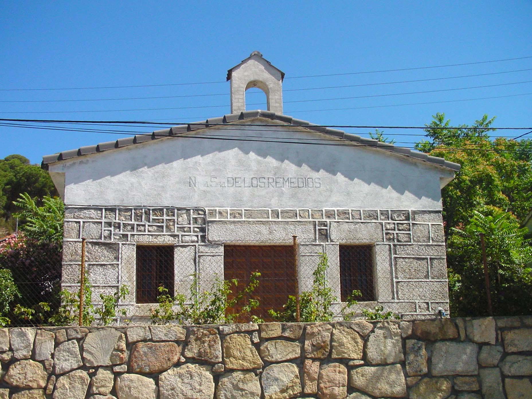 Ermita de Nuestra Señora de los Remedios en Valdemaqueda