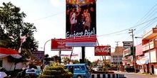 Calles de Wamena, Irian Jaya, Indonesia