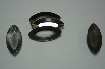 Moldes de tartaletas ovaladas