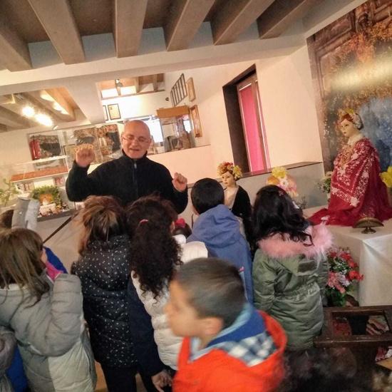 Los alumnos de 5 años visitan el Museo de la Ciudad de Colmenar Viejo 2