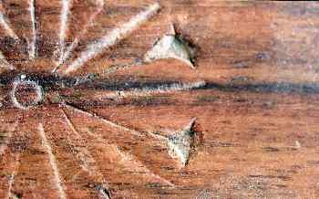Motivo en madera