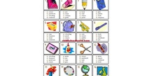 PRIMARIA - 4º - CLASSROOM VOCABULARY - FORMACIÓN