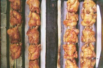 Parrilla de pollos