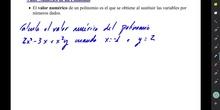0504 Valor Numérico de un Polinomio