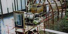 Cabrestante de doble carrete para planos inclinados, Museo de la