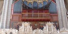 Trascoro y órgano, Seo de Zaragoza
