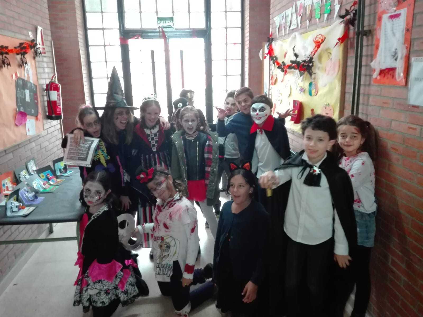 Quinto A celebra Halloween_CEIP Fernando de los Rios_Las Rozas 6