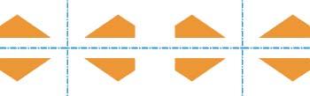 Friso por simetría horizontal y vertical