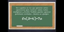 6º matemáticas Las operaciones combinadas