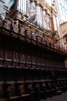 Coro de la Catedral de ávila, Castilla y León