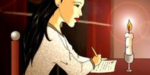 Escribiendo el adiós