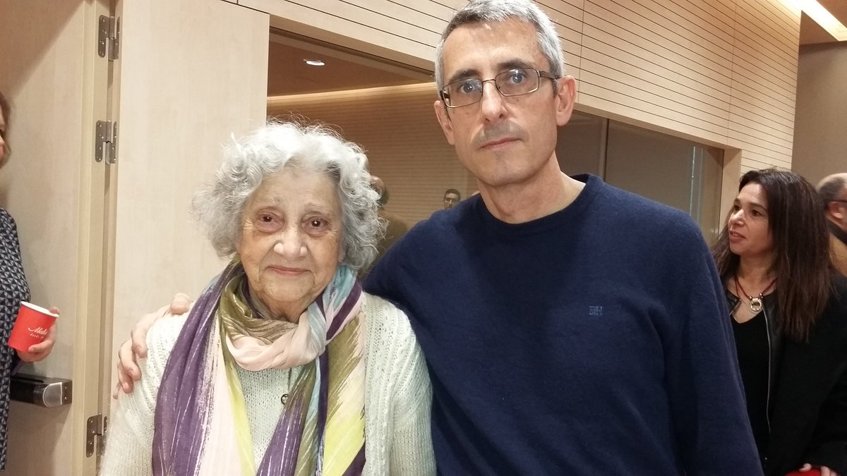 Dña. Annette Cabelli y el director del CTIF Madrid-Sur
