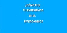 ¿Cómo fue tu experiencia en el intercambio?
