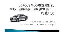 Conoce y comprende el mantenimiento básico de tu vehículo
