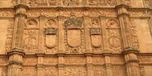Fachada del Edificio Histórico de la Universidad, Salamanca, Cas