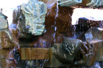 Escultura en Calle Serrano, Museo escultura al aire libre Madrid