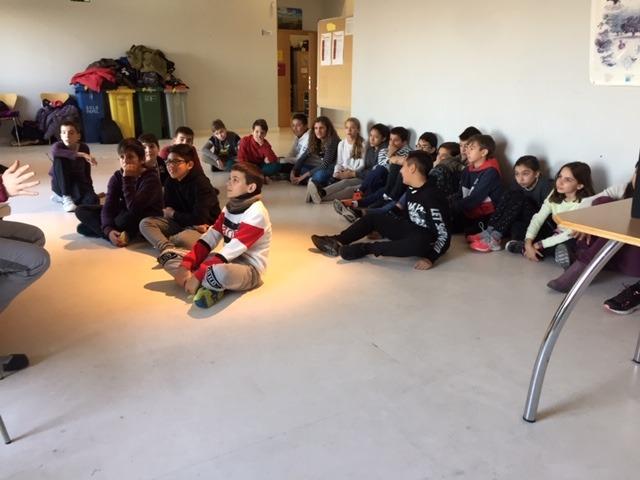 Centro de Interpretación de la Naturaleza. Montecarmelo. 6º curso. 4