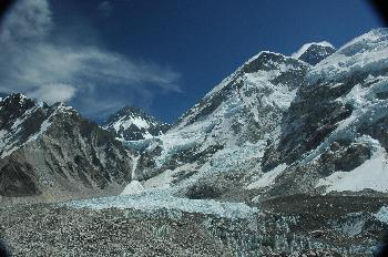 Khumbutse, Changtse y Hombro Occidental del Everest