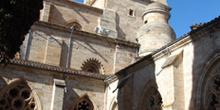 Claustro y torre de la Catedral de Ciudad Rodrigo, Salamanca, Ca