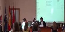 """Comenius Regio Madrid-Edinburgh 2015. Final Conference at Centro Regional de Innovación y Formación """"Las Acacias""""."""