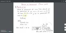 Ejercicios de probabilidad (primera parte)