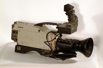 Antigua cámara digital