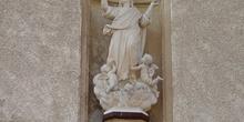 Detalle de estatua en Algete