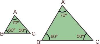 Segundo criterio de semejanza de triángulos