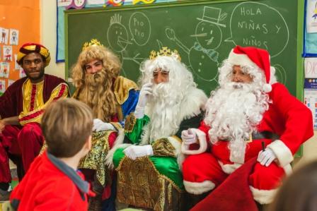 Los RRMM y Papá Noel en INF 5C 8
