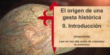 Día de la Hispanidad: V Centenario Elcano-Magallanes, vídeo juego didáctico