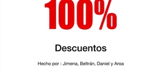 PRIMARIA - 6º - MATEMÁTICAS - APLICAR DESCUENTOS- AROA, DANIEL, BELTRÁN Y JIMENA - FORMACIÓN