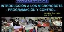 Seminario de introducción a la Microbótica - Programación de robots móviles