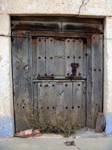 Herraje de puerta de casa rural