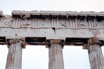 Detalle del Partenón, Atenas